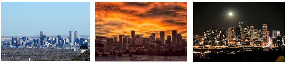 3 Denver Skyline